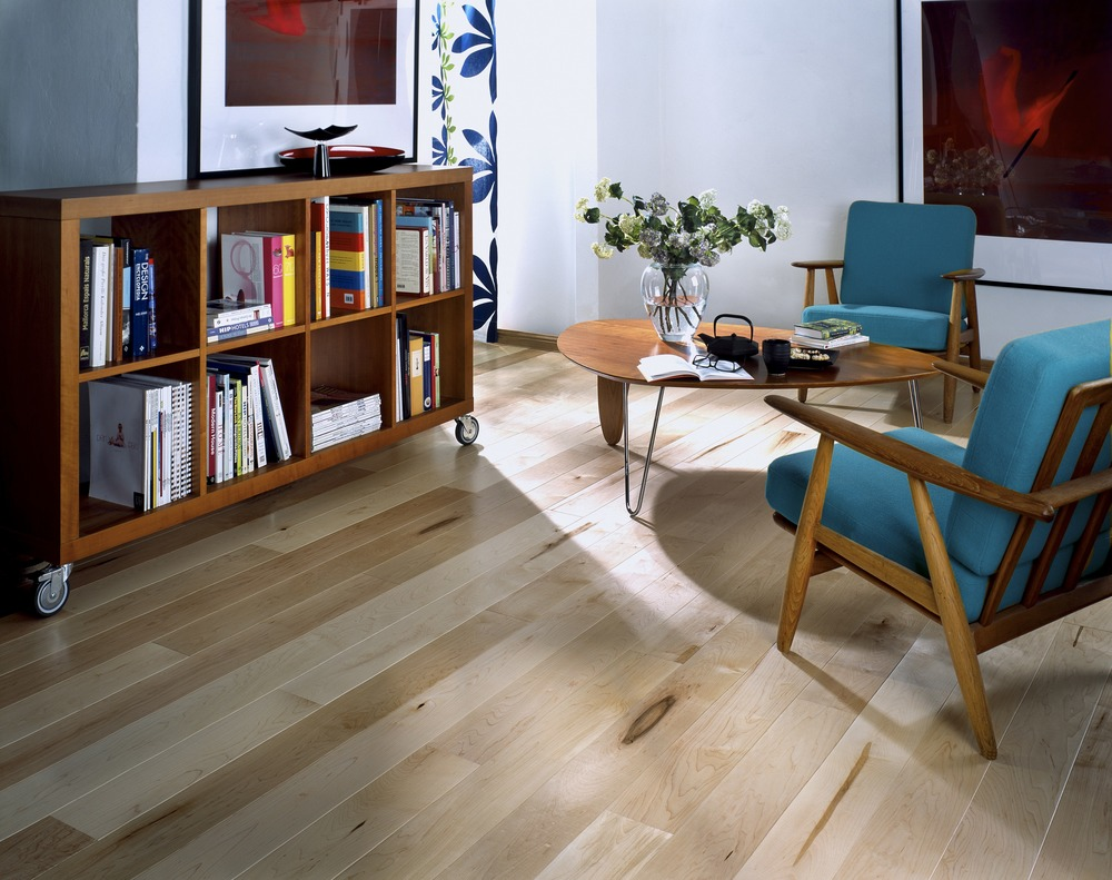 lounge wooden floor