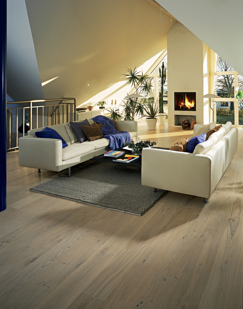 residential light wooden floor