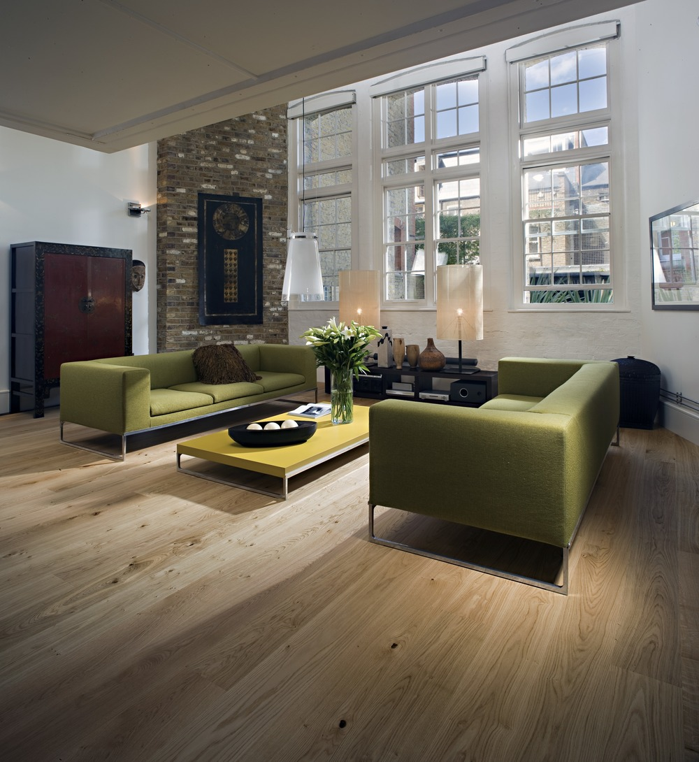 residential lounge wooden floor