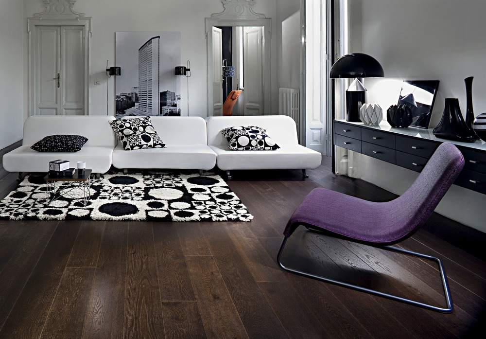 lounge dark wooden floor