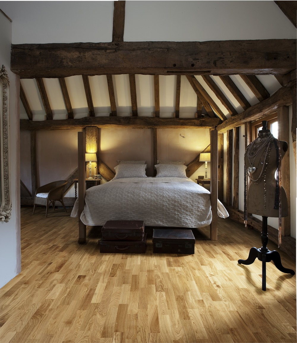 bedroom light wooden floor