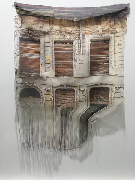 Leyla Cardenas image  courtesy of Galerie Dix9 Hélène Lacharmoise