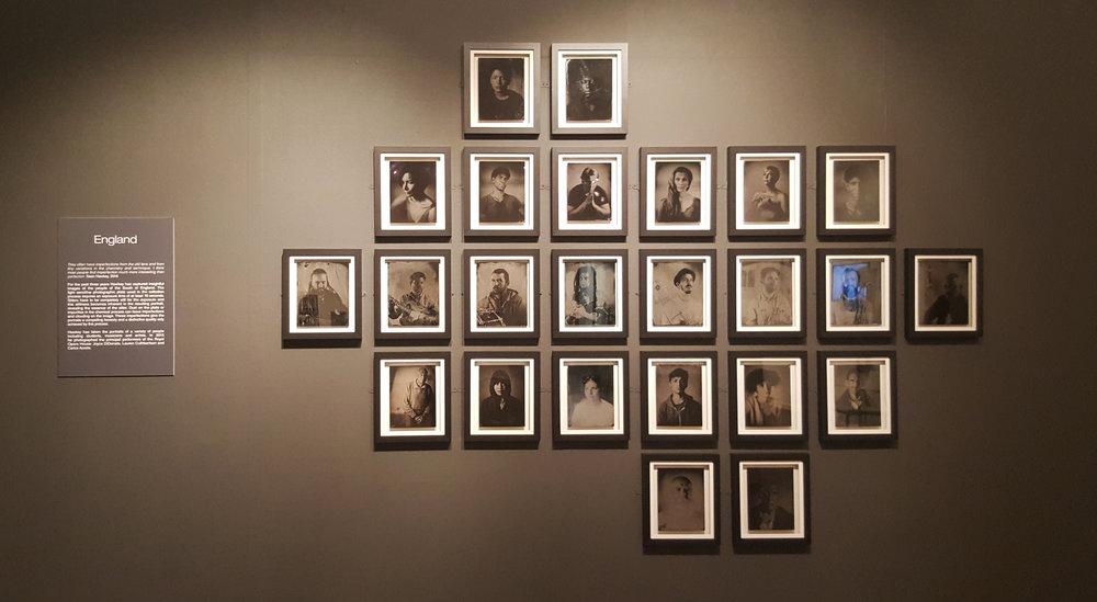 Collodion portraits
