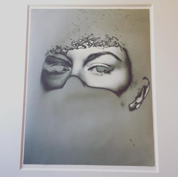 Erwin Blumenfeld, Solarised Eyes, 1935 Michael Hoppen Gallery