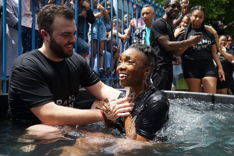 Baptisms Trinity Harlem