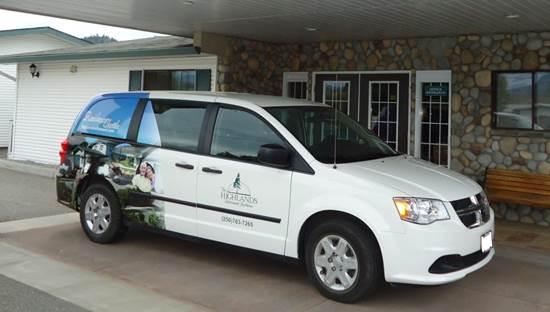 Highlands Shuttle Van