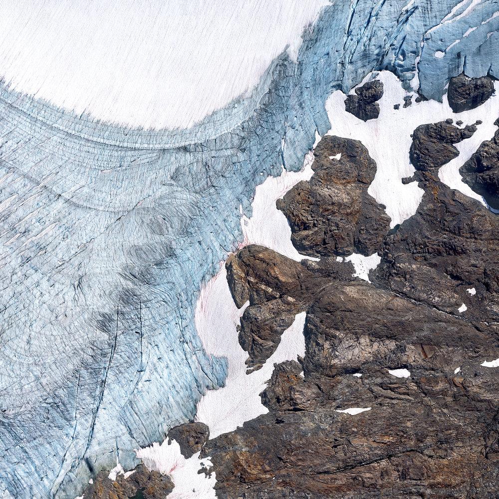 Icefield Study #28 | Crescent Beach (2018)
