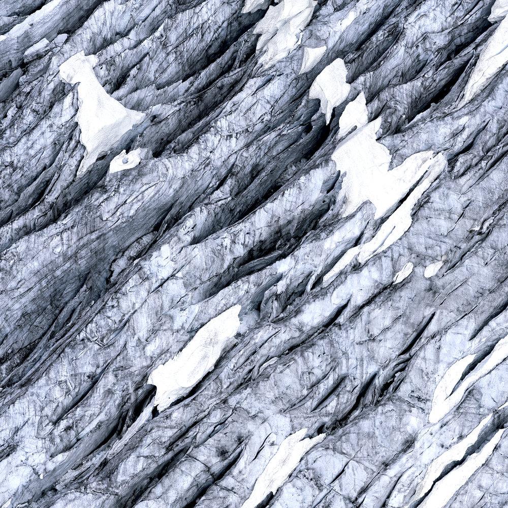 Icefield Study #8 | Downstream (2018)