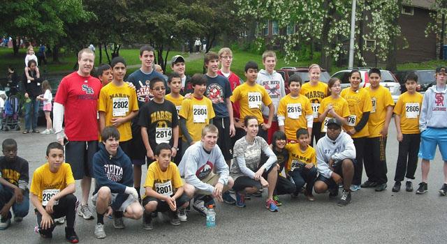 2013 Running Mustangs at the Ridge Run 2