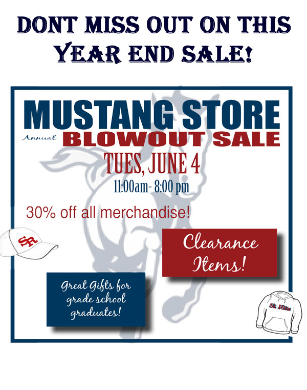 Mustang store year end sale