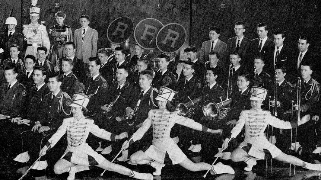 Band members in 1954
