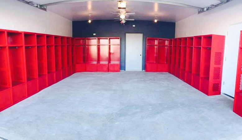 St. Rita Soccer's New Locker Room