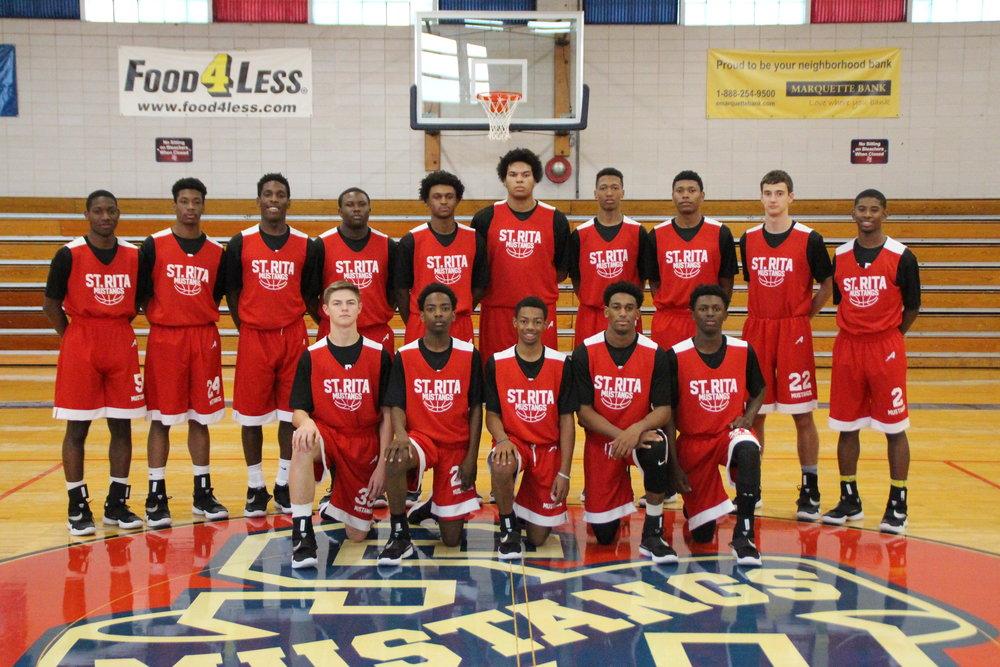 St Rita Basketball Home Opener Vs Providence St Mel