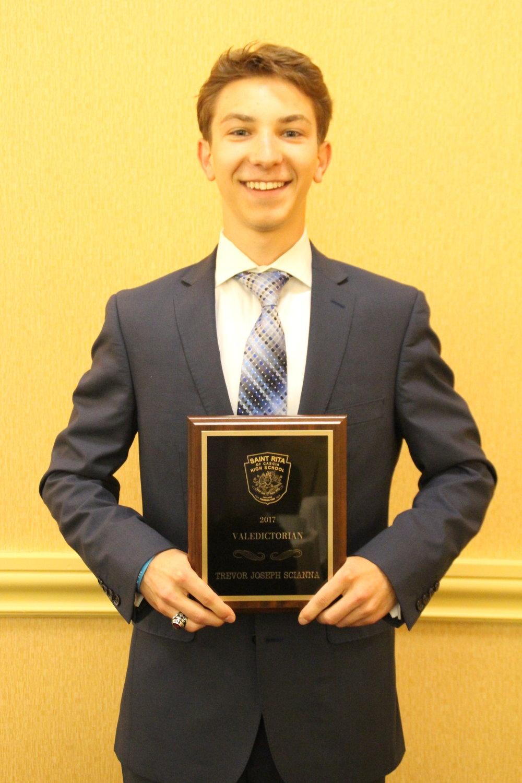 Class of 2017 Valedictorian Trevor Scianna