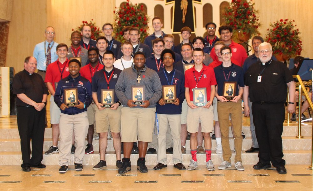 Kairos Leaders for the 2017-18 academic year were honored.