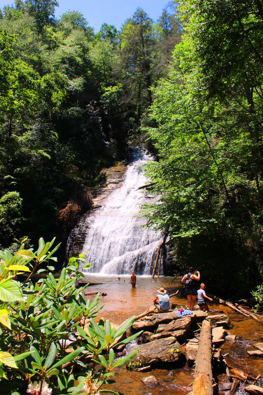 Helton Creek Falls swimming hole
