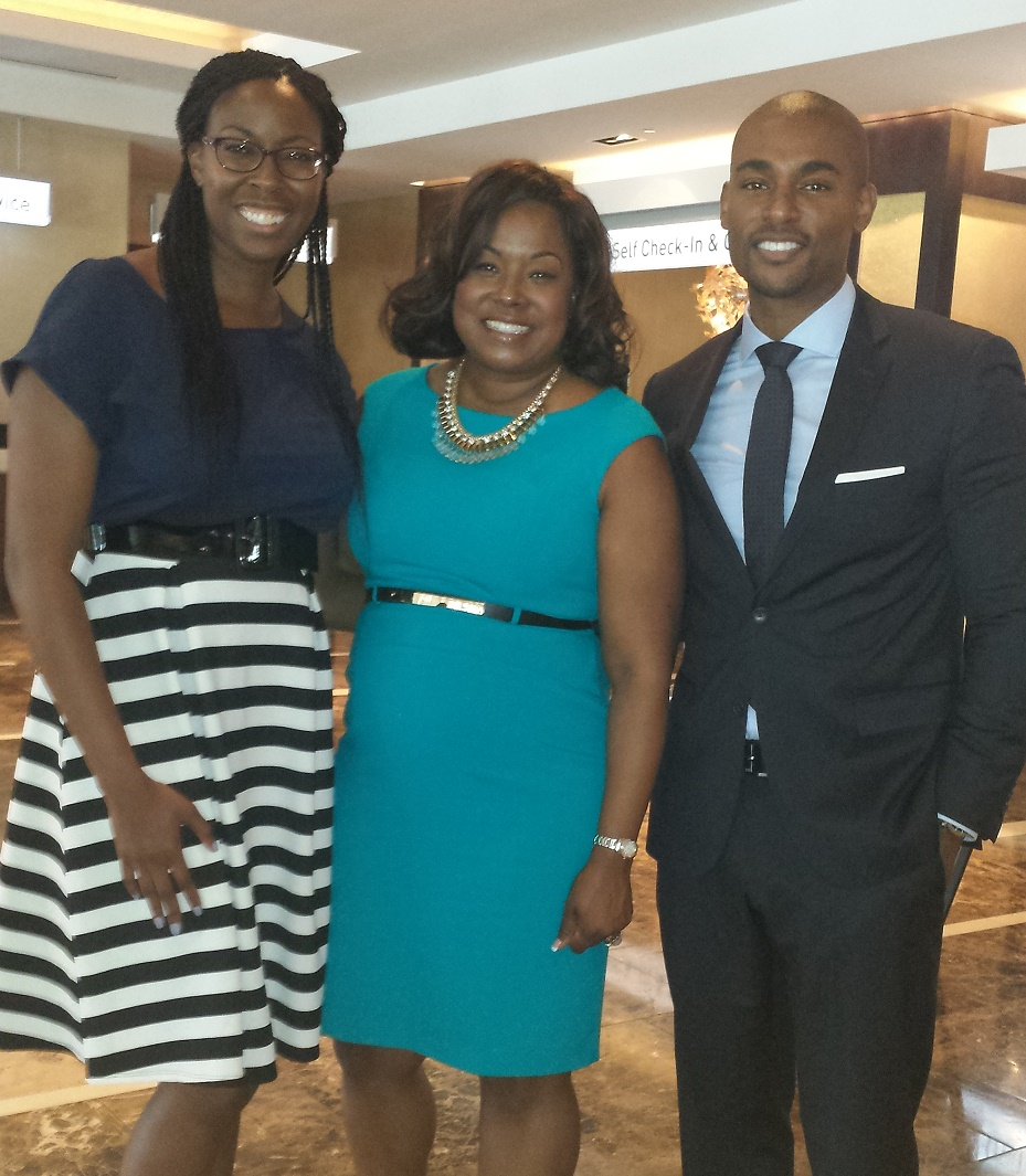 Nichelle McCall, Melinda Emerson (Small Biz Lady,  Forbes), Paul C. Brunson (Black Enterprise)