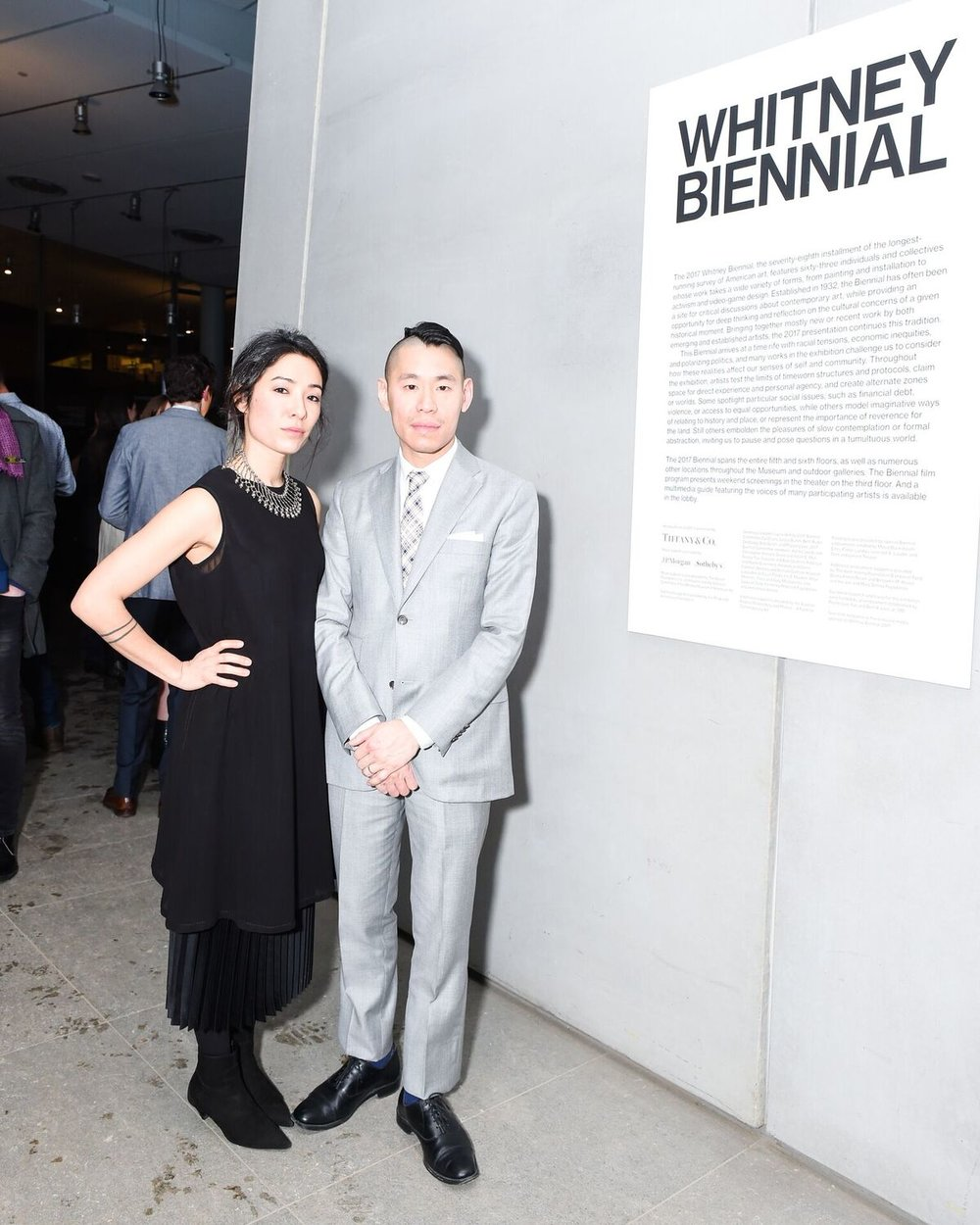 Whitney Biennial curators Mia Locks + Christopher Y. Lew