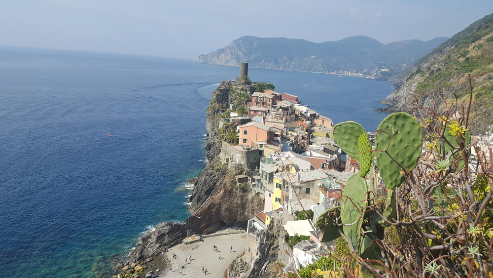 Cinque Terre was beautiful, but overrun by tourists.