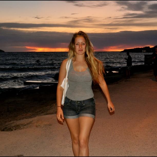 #me #beach #spain #love #life  (Taken with  instagram )