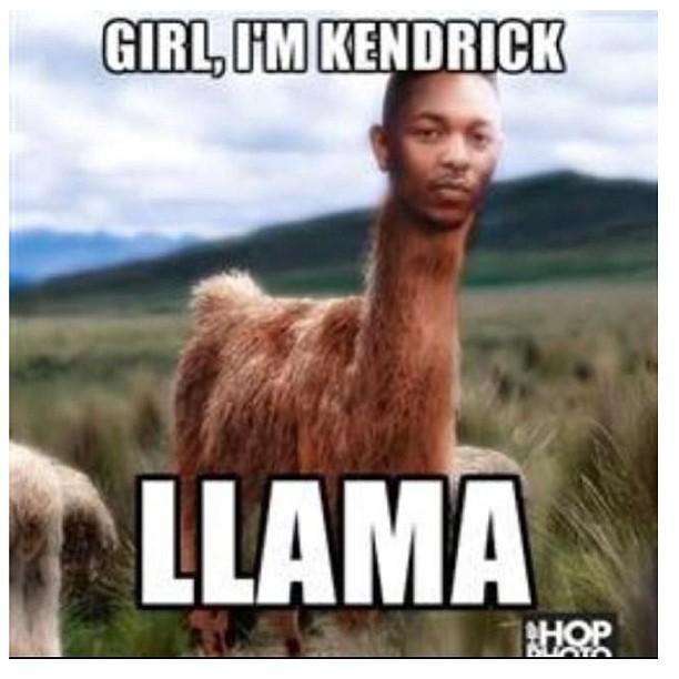 Serious laugh when I got sent this!  #kendricklamar