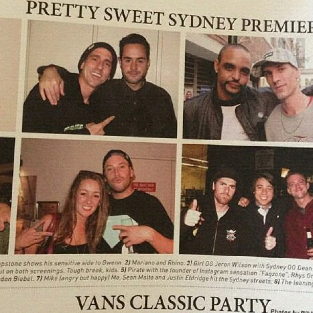 RP: #PrettySweet Sydney movie premmie!  Play on playa.