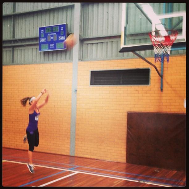Ball so hard..  Hahaha!  #basketball #baller #funsundays with the boys.