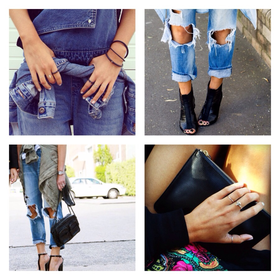Denim trouble.