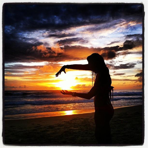 Super Sayon Thailand sunset magical.