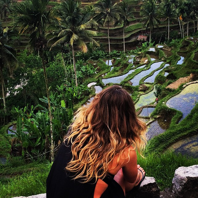 Northern peace 🌴  #Bali #Travel #wildfunfree  (at Tegallalang Rice Terraces)