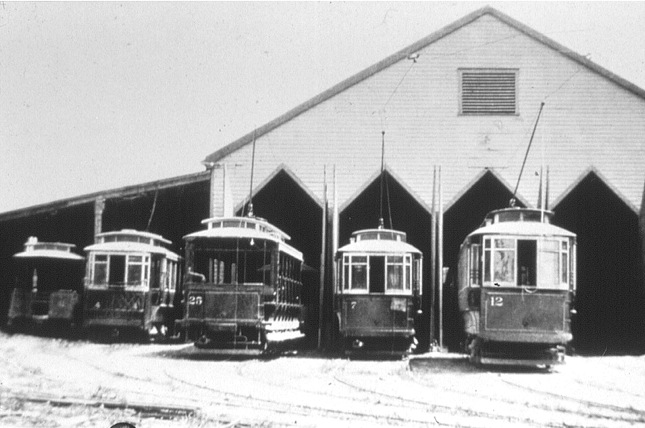 Trolley Car Barn