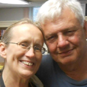Ellen and David Cohen - food volunteers at St. Paul's shelter since its inception