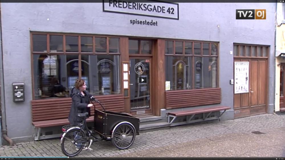 Madvognen besøger Frederiksgade 42