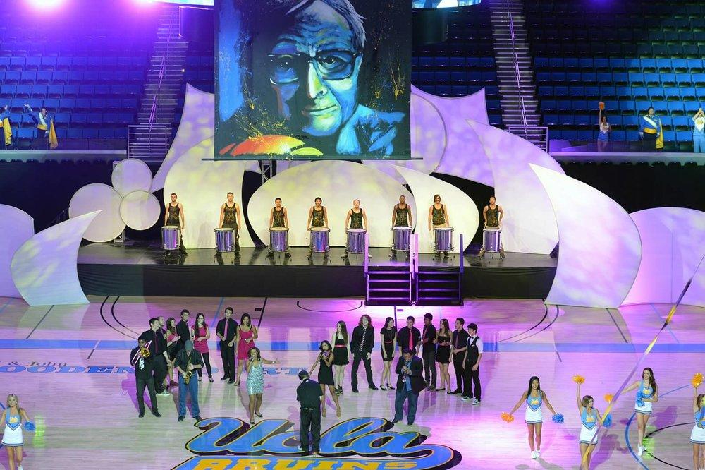 John Wooden Dedication at Pauly Pavillion