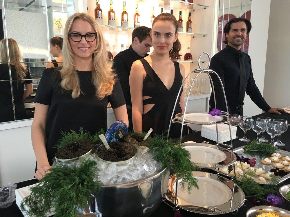 Caviar Tasting an Agency Open House