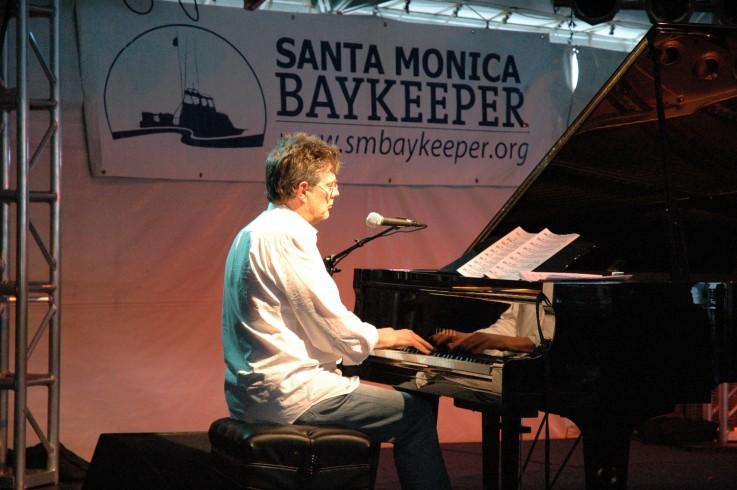 David Foster at the Santa Monica Baykeeper Fundraiser