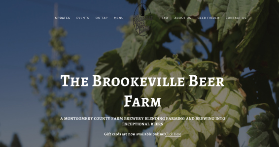 Brookeville Beer Farm  - From Caragh McLaughlin  Until recently, I lived outside Washington DC and within a few miles of my house there were a couple of beer farms that opened within a short timeframe. My favorite one, Brookeville Beer Farm, combines the Farm-to-Table movement with the vibe of a casual music festival. They grow their own hops on the farm, built out a beautiful covered patio with live music on the weekends, have a large lawn where people can hang out and bring picnics and lawn games for kids, built a brick oven that made delicious pizza and have rotating food trucks to bring variety to the food options. They allow dogs and people can bring their own food. It became a favorite place for most of our friends to spend a weekend afternoon with the whole family. What I think they got right was the intersection of multiple trends: Local, craft beer, farm-to-table ingredients, menu variety (& who doesn't love food trucks these days?!), and personalization. And, it found that rare space where kids could run around and play while adults could spend time together over a drink & some delicious food.