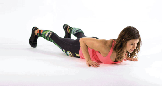 """30-day Burpee Challenge  - From Carolina Fryer  Efficiency, effectiveness, dynamic and powerful – that is what I think about when I hear Burpee. Most people have a different (and not nice) reaction but I actually really love Burpees. For those of you uninitiated, this a deceptively simple movement that uses every part of your body. Simply start standing, get to a squat, drop to the ground for a plank to push up and pop back up to your feet with a small jump and overhead clap. Easy. Not so much. For me a burpee is the quickest way to """"wake up"""" my body and mind. I think of it as the entreprenuer's workout – quick and to the point. No messing around. Do it and get back to what you want to get accomplished. Want a fun challenge… do the 30-day Burpee Challenge. You'll thank me later."""
