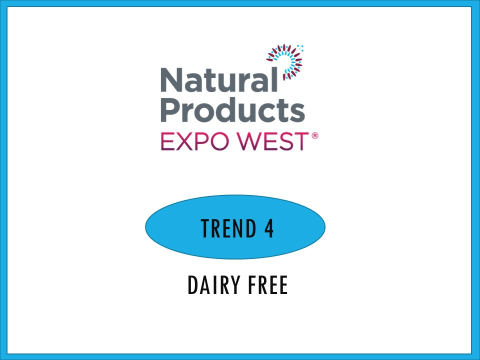"""Although free-from has been the mega trend for the last few years, this year I saw an explosion of delicious dairy free products that have stepped it up a notch. These four shining examples redefine dairy free from just a """"free-from"""" claim on package to a completely delightful eating experience. You don't have to be a dairy avoider to enjoy these treats for what they are – good food."""