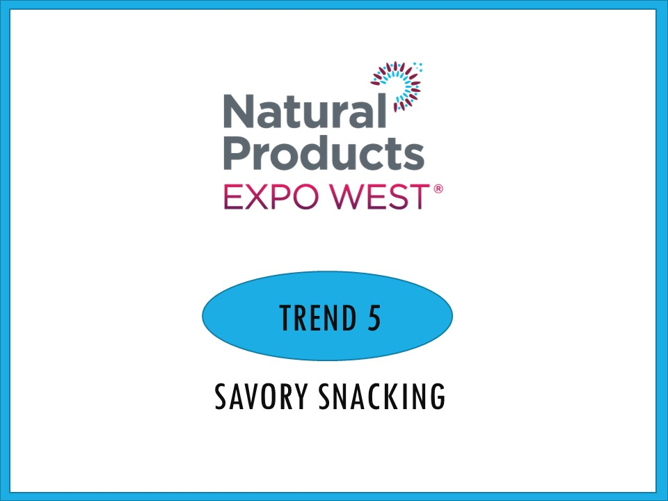 As snacking continue to grow, more and more consumers want easy snacks that aren't always sweet or chip based. These three examples highlight savory snacking done right.