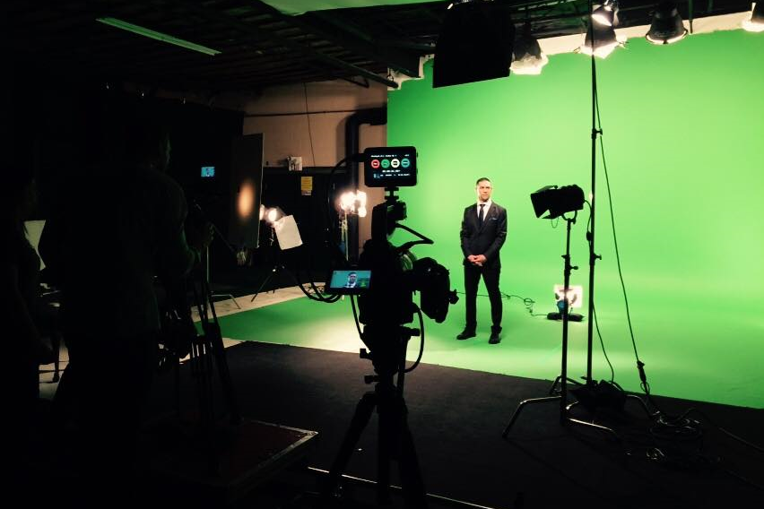 On Set - Green Screen, Corporate