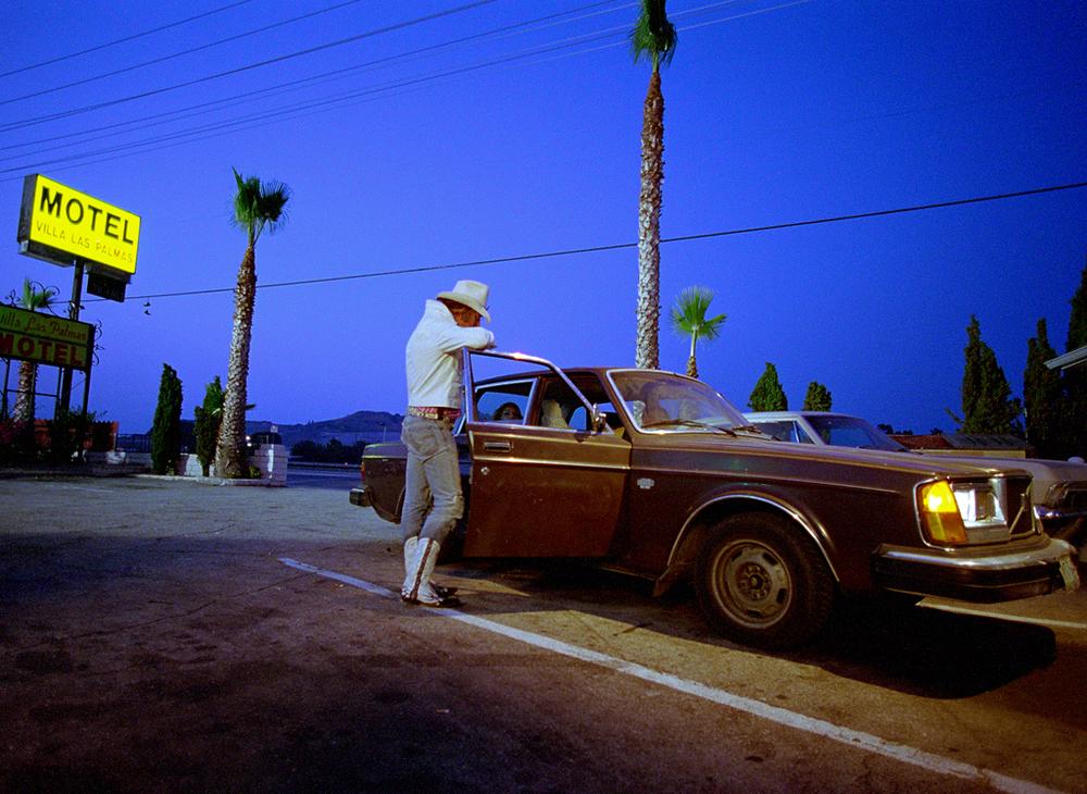 Mickey Rourke as the Cook in Spun ©Photographer Max Modén