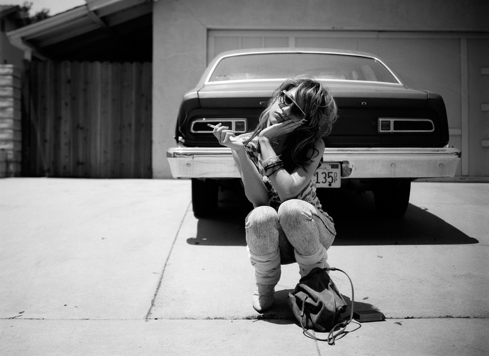 Brittany Murphy on the Driveway ©Photographer Max Modén