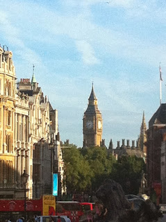 Big Ben at a distance.