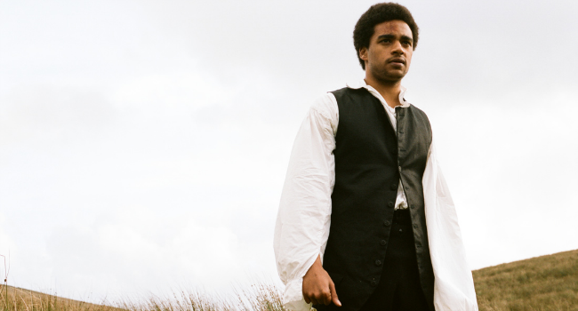 Heathcliff depicted as a black man in the 2011 film adaptation of Wuthering Heights