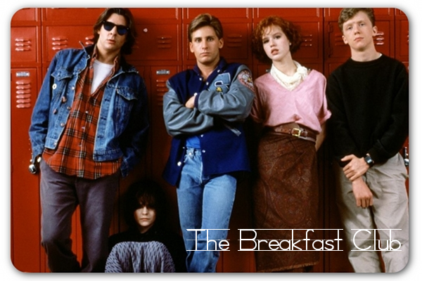 "This post has nothing to do with The Breakfast Club (my favorite movie by the way), but the outro, hit song ""Don't You (Forget About Me)"" by Simple Minds is quite fitting. Do any of you 80's kids remember it? Photo Credit; Edited by me."