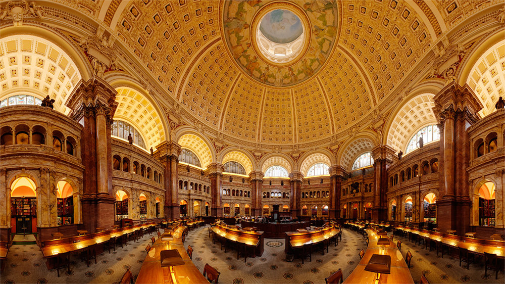 The U.S. Library of Congress is the de facto national library for the country and is the oldest national cultural institution in the United States of America. It holds the second-largest library collection in the world. As a research library for the world (over 450 languages in its book collection alone), its holdings are vast and multifaceted. Among other items the library's holdings include rare, limited edition visual artworks including master drawings, photographs, and fine art prints. The library's collection of artworks is the highest caliber of quality and cultural importance.