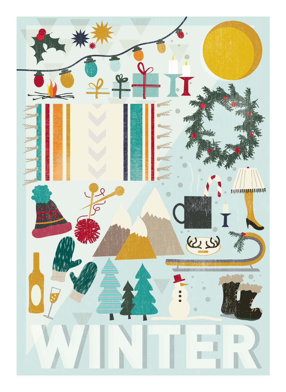 winter by oh so suite at minted