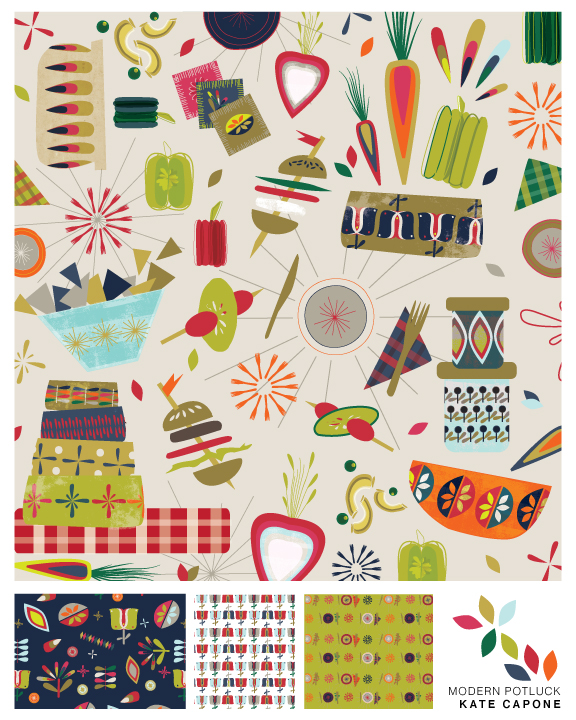 NEW IN GRAPHIC COLLECTIONS: Modern Potluck, Get in touch here to see full collection!