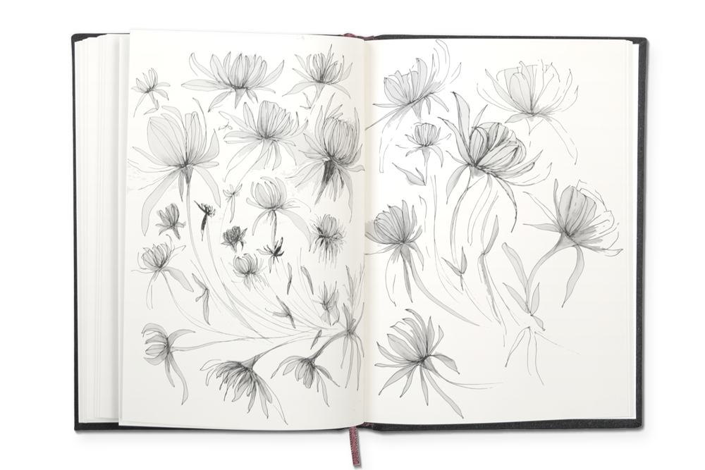 SCENES FROM A SKETCHBOOK. CHECK OUT MORE HERE.